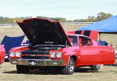 Chevelle SS at Car Show Royalty Free Stock Images