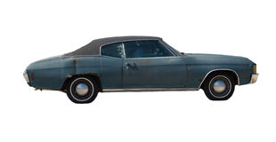 Chevelle viejo oxidado Imagenes de archivo