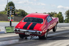 Chevelle-Wheelie Stockbild