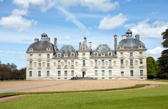 Cheverny. Castle of Cheverny in Loire, France Stock Image