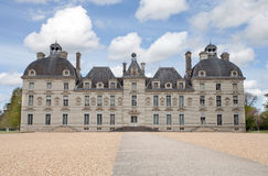 Cheverny. Castle of Cheverny in Loire, France Royalty Free Stock Photography