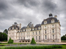 Cheverny Castel in Loire Valley, France - July 10, 2012 - Back Royalty Free Stock Image