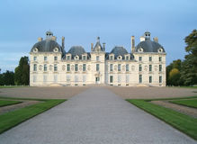Cheverny castle. Inspired by Herve for Tintin as Captain Haddock residence - France Stock Photos
