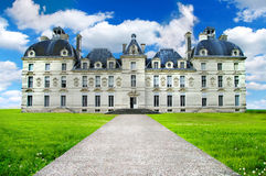 Cheverny castle Royalty Free Stock Photo