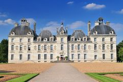 Cheverny Castle built in the seventeenth century in the style of Louis XIII in Cheverny France. Cheverny Castle built in the seventeenth century in the style of stock photos