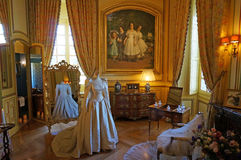 Cheverny Castle Chateau Dressing Room Royalty Free Stock Photo