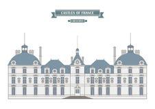 Cheverny castle, France Royalty Free Stock Photos