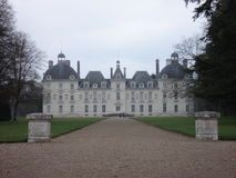 Cheverny in the center of France Royalty Free Stock Photography