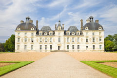 Cheverny Chateau exterior Royalty Free Stock Photography