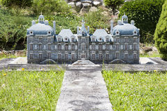 Cheverny Loire Castle  Italy Mini Tiny Royalty Free Stock Photo