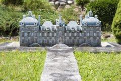 Cheverny Loire slott Italien Mini Tiny royaltyfri foto