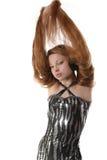 cheveu de fille long Photographie stock