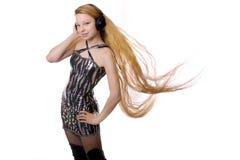 cheveu de fille long Photographie stock libre de droits