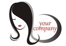 Cheveu de logo Image stock