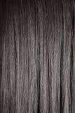Cheveu droit brillant noir Photo stock