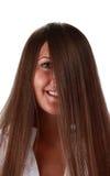 Cheveu? et oeil Photographie stock