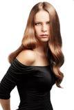 Cheveu parfait Photographie stock libre de droits