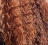 Cheveu rouge Image stock
