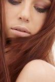 Cheveu rouge Image libre de droits