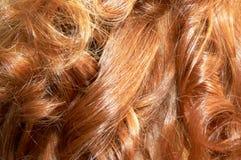 Cheveu roux Photos libres de droits