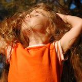 Cheveu sali Images libres de droits