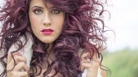 Cheveu sauvage Images libres de droits