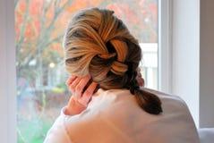 Cheveu tressé Photographie stock