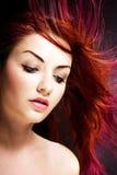 Cheveu vibrant Image libre de droits