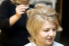 Cheveux photographie stock