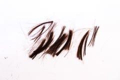 Cheveux découpés Photo libre de droits
