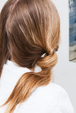 Cheveux dénommant le salon de coiffure photographie stock libre de droits