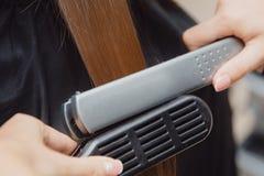 Cheveux de station thermale après traitement image libre de droits