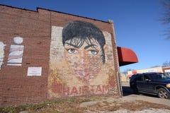 Cheveux du ` s de Stephanie que je peins, Memphis Arkansas occidental photographie stock