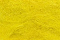 Cheveux jaunes Image stock