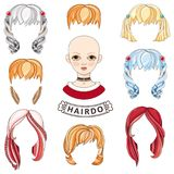 Cheveux KREATOR Fille avatar Photographie stock