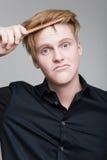 Cheveux rouges photographie stock libre de droits