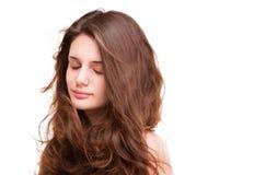 Cheveux sains brillants Photos stock