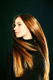 Cheveux vibrants Images stock