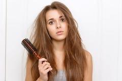 Cheveux vilains idiots Photographie stock libre de droits