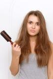 Cheveux vilains idiots Photo libre de droits