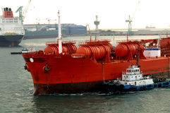 Chevical industry - chemical tanker Royalty Free Stock Photos