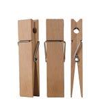 Cheville en bois tirée de différents angles Image libre de droits