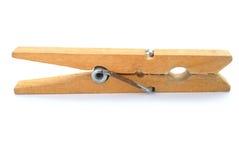 Chevilles en bois de tissu Photos stock