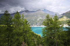Chevrile Lake Stock Images