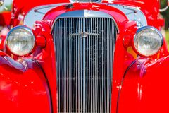 1937 Chevrolet κύριο Coupe Στοκ Εικόνα