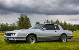 1987 Chevrolet Μόντε Κάρλο Στοκ φωτογραφία με δικαίωμα ελεύθερης χρήσης