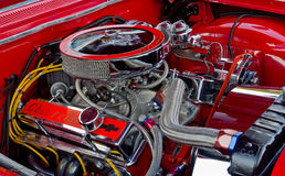 Chevrolet 327 CI Engine Royalty Free Stock Images
