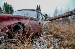 Chevrolet abandonado Foto de archivo libre de regalías
