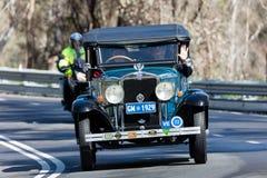 1929 Chevrolet AC Phaeton. Adelaide, Australia - September 25, 2016: Vintage 1929 Chevrolet AC Phaeton driving on country roads near the town of Birdwood, South Stock Photo