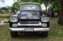 Chevrolet Apache classic pickup truck Stock Photos